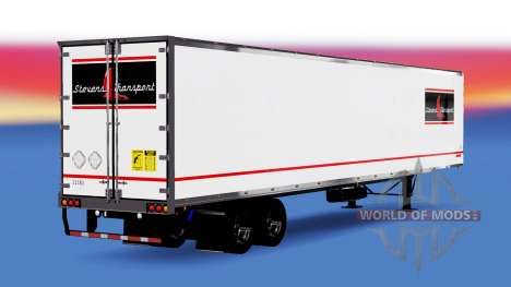La piel Stevens Transporte en semi-remolque para American Truck Simulator