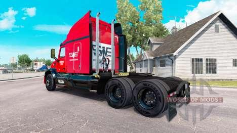 El sureste de la piel para el camión Peterbilt para American Truck Simulator