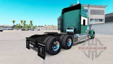 La piel Reimer Líneas Express en el camión Kenwo para American Truck Simulator