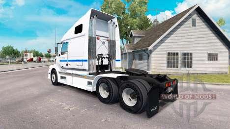 La piel de Con-way Truckload para tractocamión V para American Truck Simulator