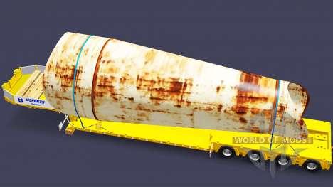 Bajo la cama de arrastre de la Muñeca con la car para Euro Truck Simulator 2
