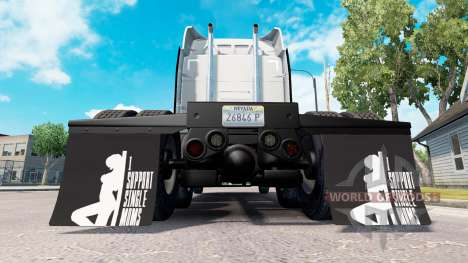 Guardabarros yo Apoyo a Madres Solteras v1.1 para American Truck Simulator