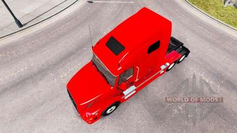 BR Williams piel para camiones Volvo VNL 670 para American Truck Simulator