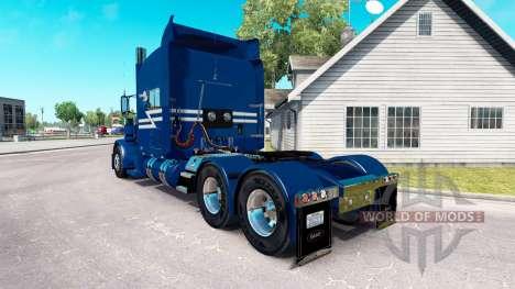 TransWest de la piel para el camión Peterbilt 38 para American Truck Simulator