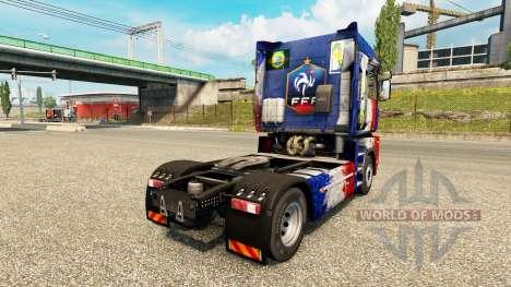 La piel de Copa de Francia 2014 en una unidad tr para Euro Truck Simulator 2