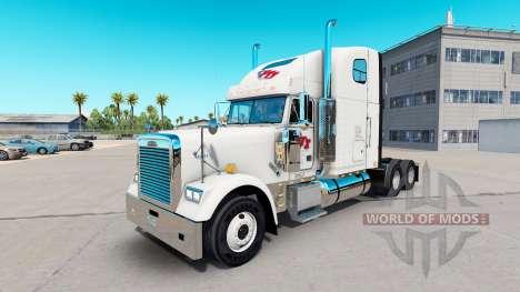 La piel de la FTI de Transporte en el tractor Fr para American Truck Simulator