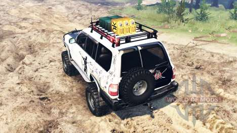 Toyota Land Cruiser 100 2000 [Samuray] para Spin Tires