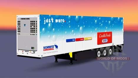 La refrigerados semi-remolque Schmitz Cargobull para Euro Truck Simulator 2