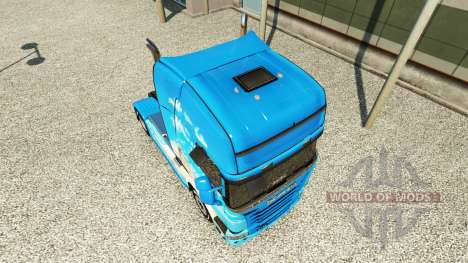 La piel Klanatranas en el tractor Scania para Euro Truck Simulator 2