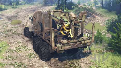 Ural-4320 [grizzly] v4.0 para Spin Tires