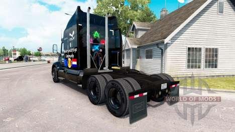 Up2Gaming de la piel para el camión Peterbilt para American Truck Simulator