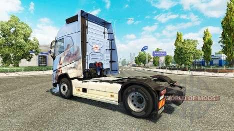 Los sueños de la piel para camiones Volvo para Euro Truck Simulator 2