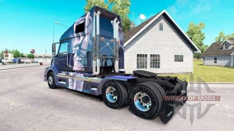 La fantasía de la piel para camiones Volvo VNL 6 para American Truck Simulator