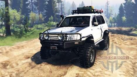 Toyota Land Cruiser 100 2000 [Samuray] v2.0 para Spin Tires