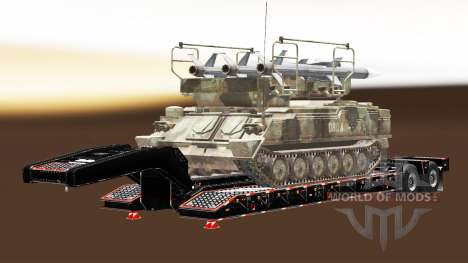 Semi llevar equipo militar v1.4.1 para Euro Truck Simulator 2