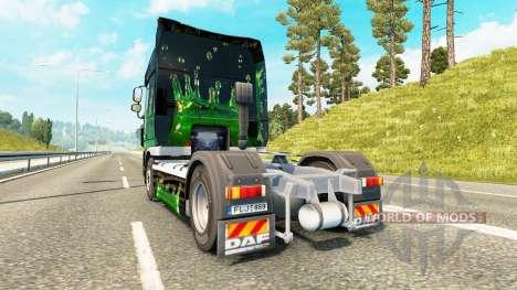 Obras de arte de la piel para DAF camión para Euro Truck Simulator 2