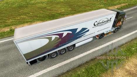 Semi-Remolque Krone para Euro Truck Simulator 2
