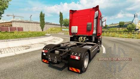 De transporte pesado de la piel para Renault cam para Euro Truck Simulator 2