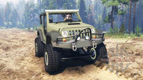 Jeep Wrangler Renegade (JK) para Spin Tires