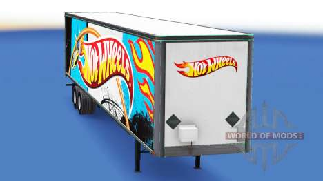 De metal semi-Hot Wheels para American Truck Simulator