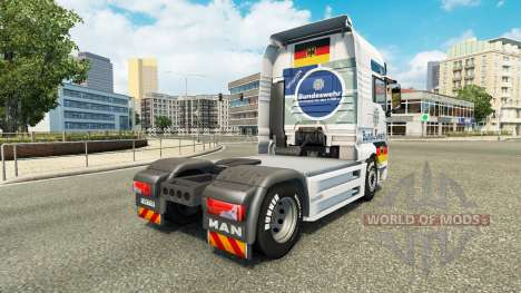 Ejército skin for MAN truck para Euro Truck Simulator 2