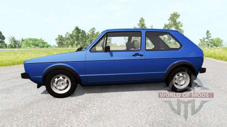Volkswagen Golf Mk1 para BeamNG Drive