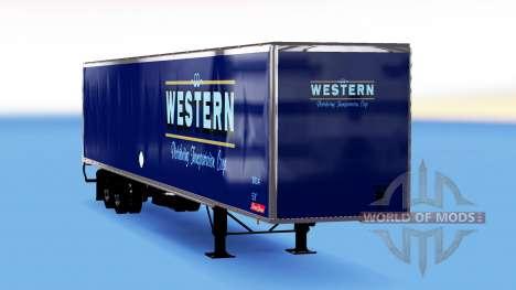 De metal semi-Western para American Truck Simulator