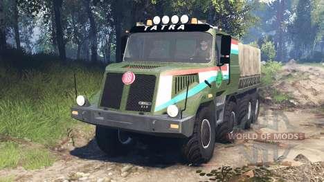 Tatra 163 Jamal 8x8 v5.0 para Spin Tires