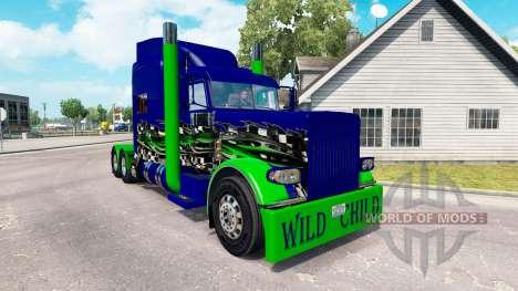 La piel de Niño Salvaje en el camión Peterbilt 3 para American Truck Simulator