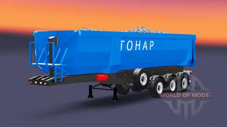 Un camión Tonar para Euro Truck Simulator 2