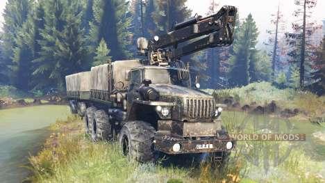 Ural-4320 Explorador Polar v10.0 para Spin Tires