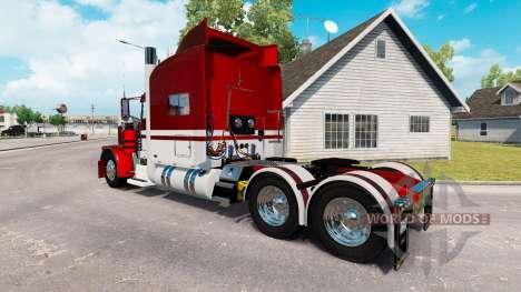 La piel de Equipos de Expresar camión Peterbilt  para American Truck Simulator