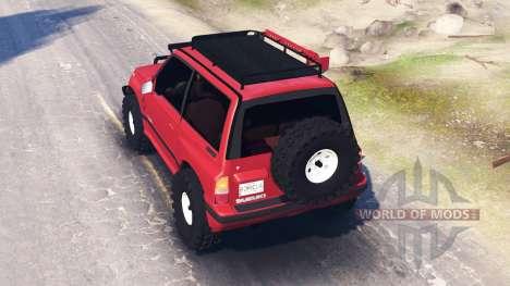 Suzuki Grand Vitara v3.0 para Spin Tires