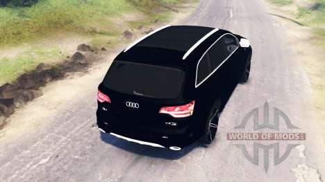 Audi Q7 v4.0 para Spin Tires
