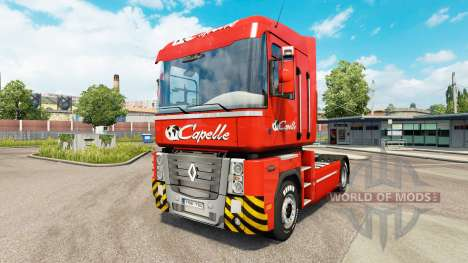 Capelle piel para Renault camión para Euro Truck Simulator 2