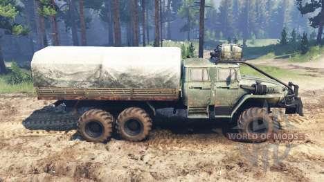 De los urales-4320-40 1982 v2.0 para Spin Tires