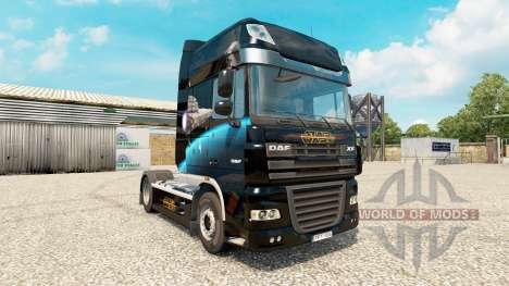 Destructor estelar de la piel para DAF camión para Euro Truck Simulator 2