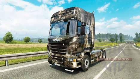 La piel de la Ciudad en el tractor Scania para Euro Truck Simulator 2