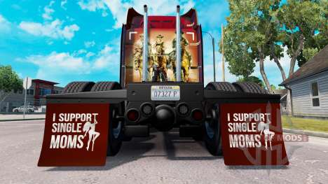 Guardabarros yo Apoyo a Madres Solteras v1.4 para American Truck Simulator