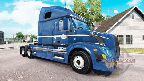 La piel en Canadá Cartage tractor Volvo VNL 670 para American Truck Simulator