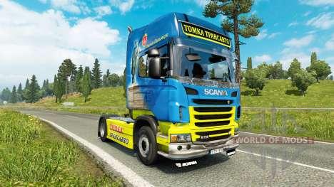 Tomka de la piel para Scania camión para Euro Truck Simulator 2