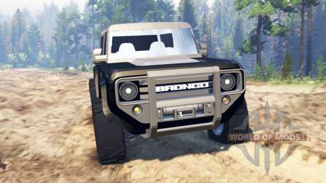 Ford Bronco Concept para Spin Tires