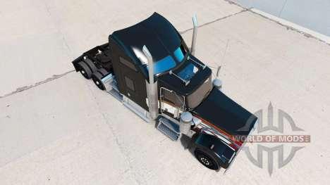 La piel en Aarons camión Kenworth W900 para American Truck Simulator