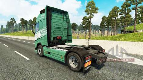 Koln piel para camiones Volvo para Euro Truck Simulator 2