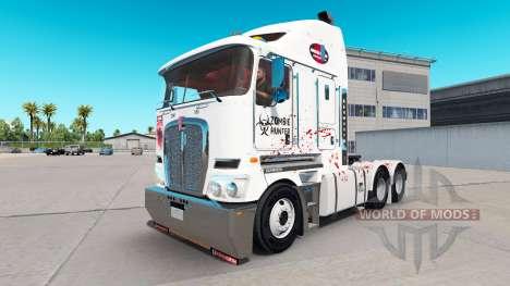 La piel de Zombie Hunter v2.0 tractor Kenworth K para American Truck Simulator