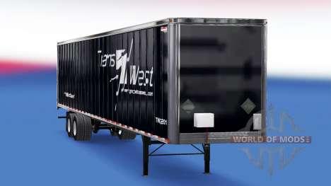 Canadiense de pieles en el remolque para American Truck Simulator