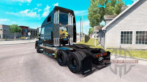 La piel de La Tienda de Cerveza en el tractor Vo para American Truck Simulator