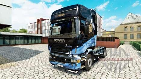 Destructor estelar de la piel para Scania camión para Euro Truck Simulator 2