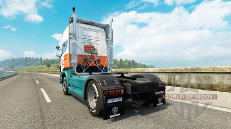 Lommerts de la piel para Scania camión para Euro Truck Simulator 2