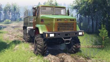 KrAZ-7140 v4.0 para Spin Tires
